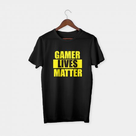 Gamer lives matter t-shirt black