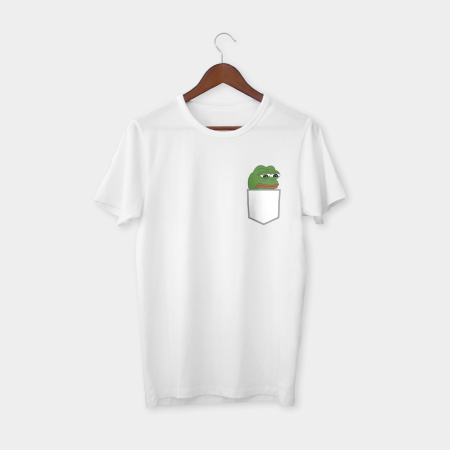 Pepe Pocket T-shirt White