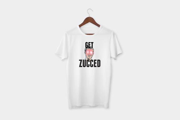 get zucced t-shirt white