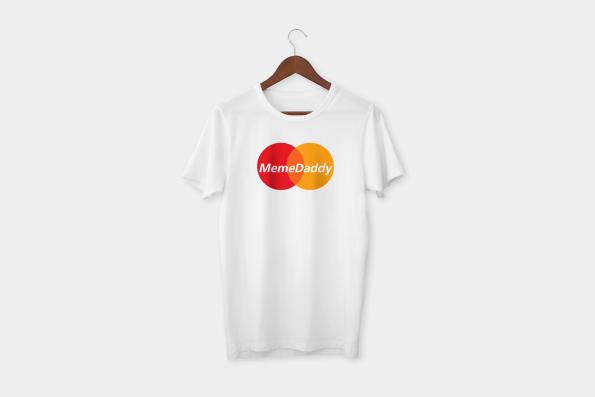 meme daddy t-shirt white