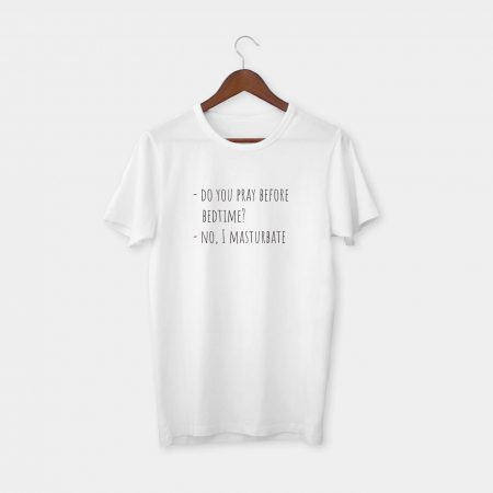 Before bedtime tshirt white
