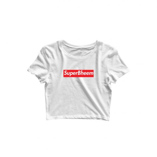 superbheem white croptop