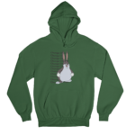 Big Chungus White Gender Neutral Hoodie