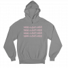 I Eat Ass Grey Gender Neutral Hoodie