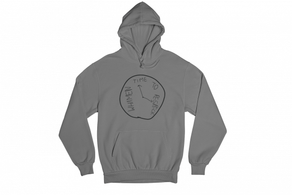 Respeck Whamen Grey Gender Neutral Hoodie