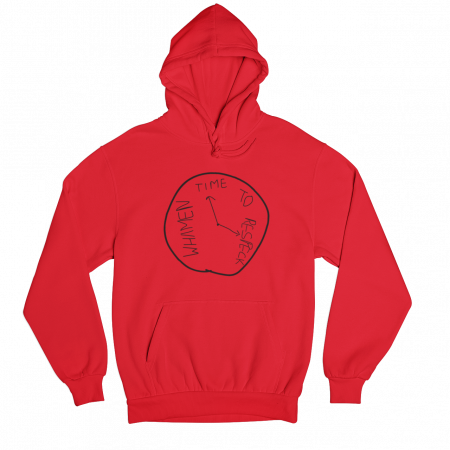 Respeck Whamen Red Gender Neutral Hoodie