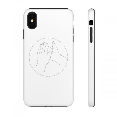 Meme Review White Phone Cover