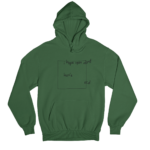 OCD Green Gender Neutral Hoodie