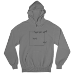 OCD White Gender Neutral Hoodie