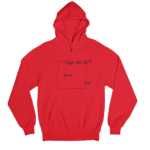 OCD Red Gender Neutral Hoodie