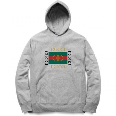 cucci hoodie grey
