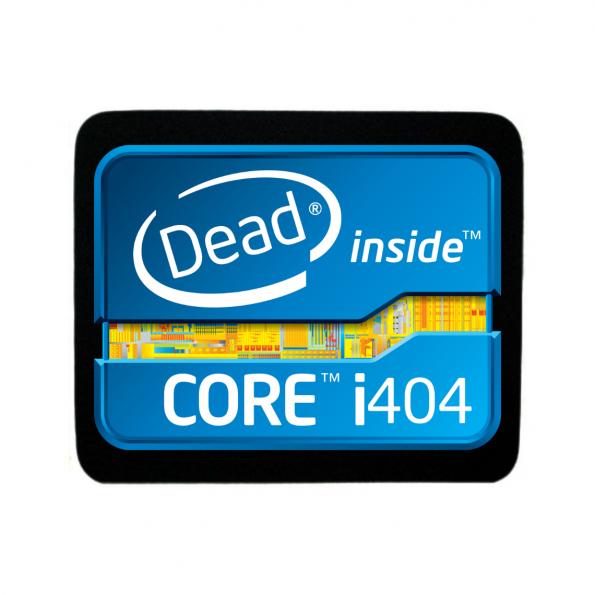 Dead inside mouse pad