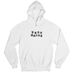 Very Naice White Gender Neutral Hoodie
