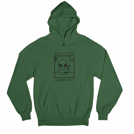 Get Lifted Green Gender Neutral Hoodie