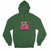 Pink Guy Green Gender Neutral Hoodie