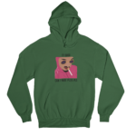 Pink Guy White Gender Neutral Hoodie