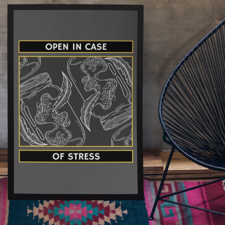 In case of stress Poster