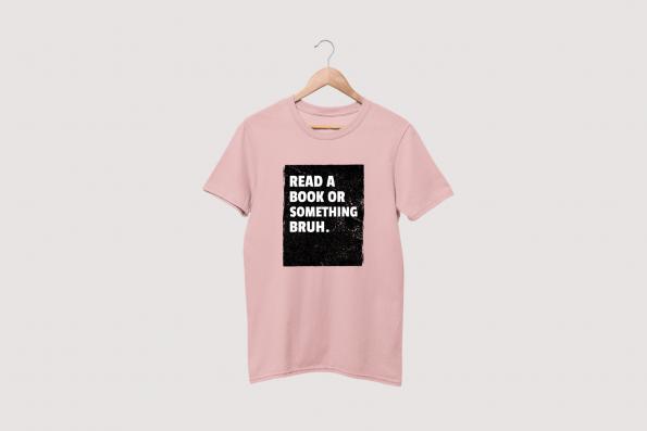 Read Bruh Pink Tee