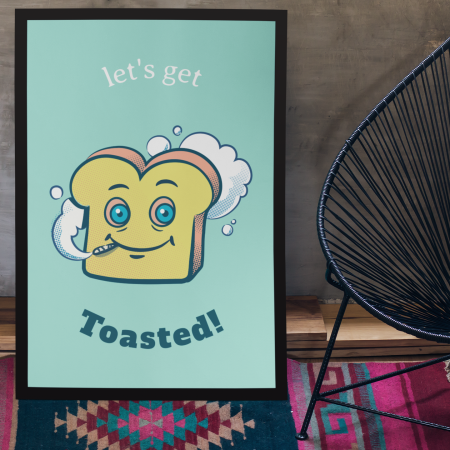Toasted Poster