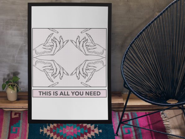 all you need poster