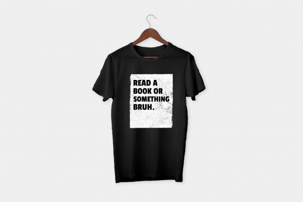 book black t-shirt