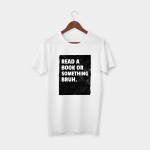 book white t-shirt