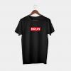 bruh sup black t-shirt
