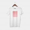 bruh white t-shirt