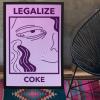 legalise coke poster