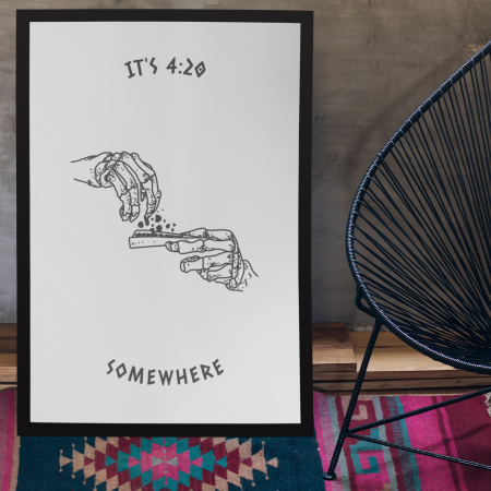 somewhere 420 poster
