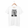 Comedy Area White Half Sleeve T-Shirt