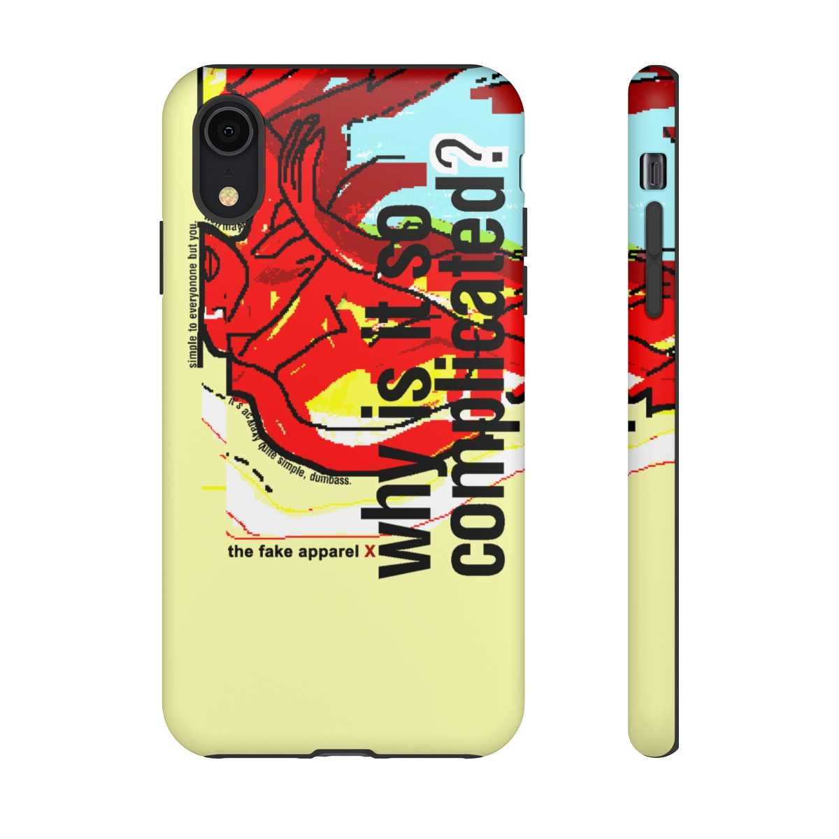 Complicated Phone Cover