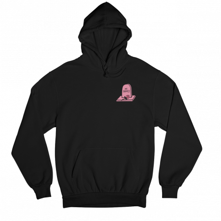 Dignity Black Gender Neutral Hoodie