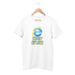Ecstasy Explorer White Half Sleeve T-Shirt