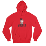 Get Zucced Red Gender Neutral Hoodie