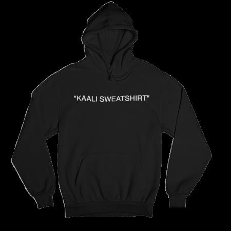 Kaali Sweatshirt Black Hoodie
