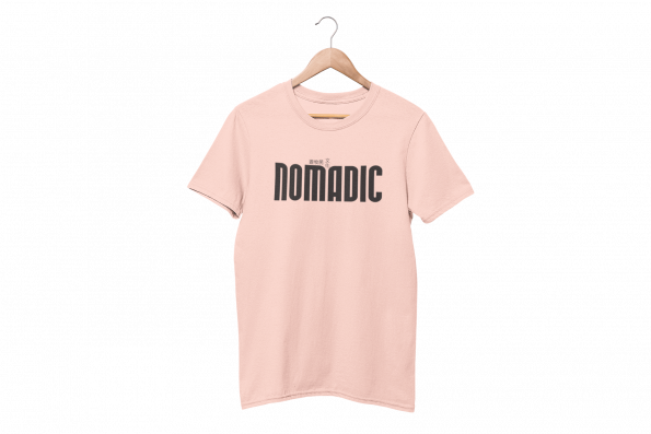 Nomadic Cotton Candy Pink Half Sleeve T-Shirt