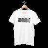 Nomadic White Half Sleeve T-Shirt