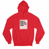 Read Bruh Red Gender Neutral Hoodie