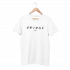 Cringe White Half Sleeve T-Shirt