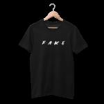 Fake Frens White Half Sleeve T-shirt