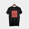 Maths black half sleeve t-shirt
