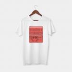 Maths white half sleeve t-shirt
