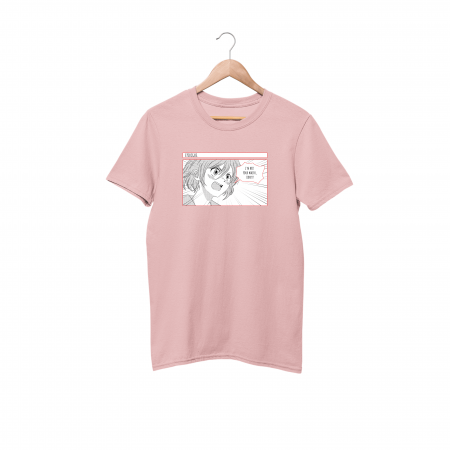 Not Your Waifu Cotton Candy Pink Half Sleeve T-Shirt