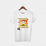 no human touch white half sleeve tshirt