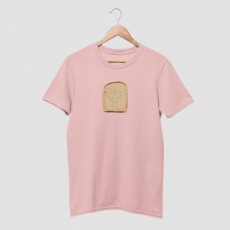 Bread Cotton Cnady Pink Half Sleeve T-Shirt