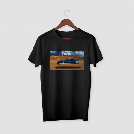 DRIFT Black Half Sleeve T-Shirt