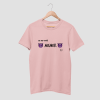 Darr mat pagli cotton candy pink half sleeve t-shirt