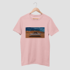 FLY HIGH Cotton Candy Pink Half Sleeve T-Shirt