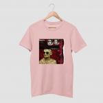 GANDHI MONEY Black Half Sleeve T-Shirt
